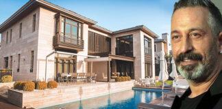 Cem Yılmaz, Zekeriyaköy'deki lüks villasını 2 milyon dolara satışa çıkardı.
