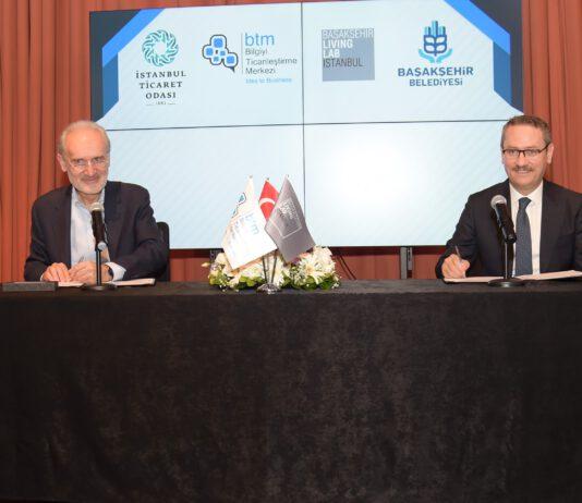BTM ile Başakşehir Living Lab arasında girişimciliği mahallelere kadar yaygınlaştırarak, ekosisteme önemli katkılar sağlayacak iş birliği protokolü imzalandı.