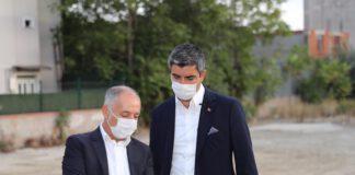 Kartal Belediye Başkanı Gökhan Yüksel yeni projeleri yerinde inceledi.